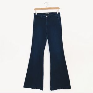 Abercrombie & Fitch | High Rise BoHo Flare Jeans